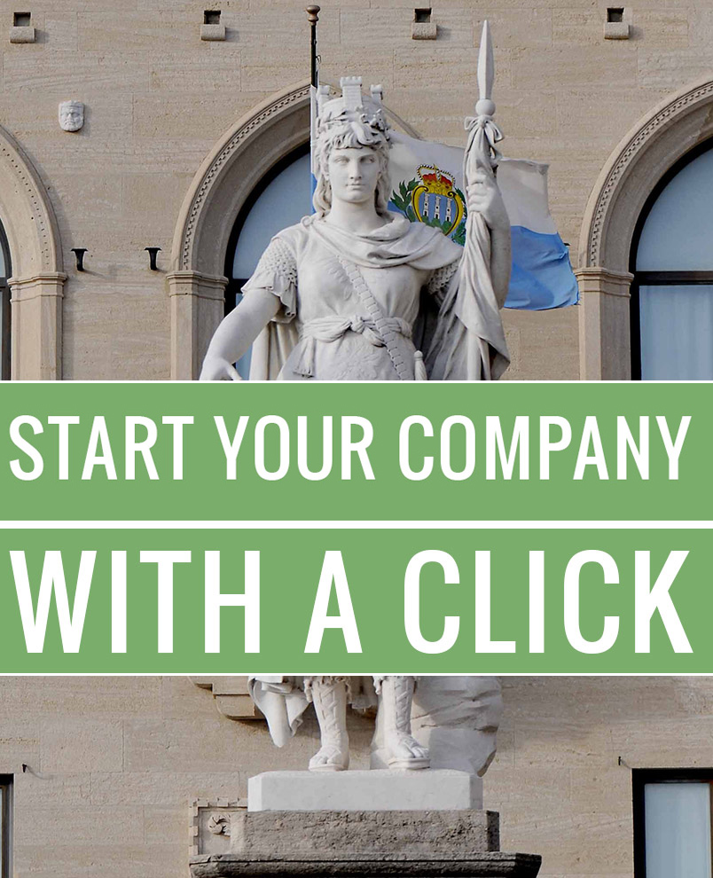 how to start your business with a click in San Marino